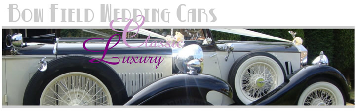 Bow Field Hire Wedding Cars