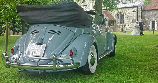 1958 VW Karmann Beetle Convertible