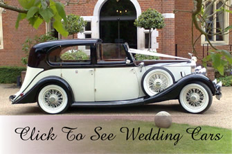 Click Here To See Our Wedding Cars