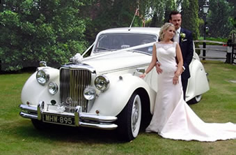 1949 Jaguar MK V Wedding Car