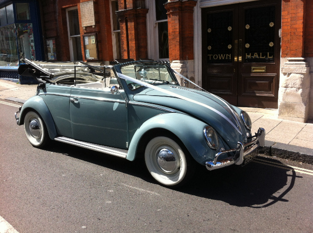 VW Beetle Convertible Marsha
