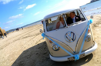 VW Camper Vand For Wedding Hire